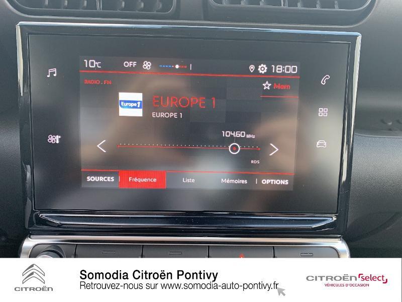 Citroen C3 Aircross PureTech 110ch S&S Feel Gris occasion à PONTIVY - photo n°13