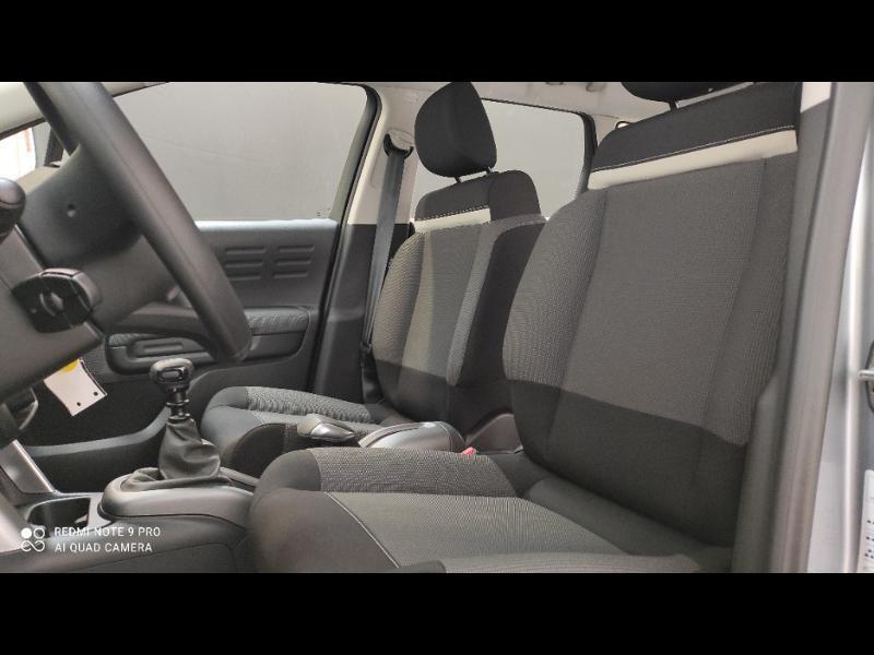 Citroen C3 Aircross PureTech 110ch S&S Feel Gris occasion à PLOERMEL - photo n°8