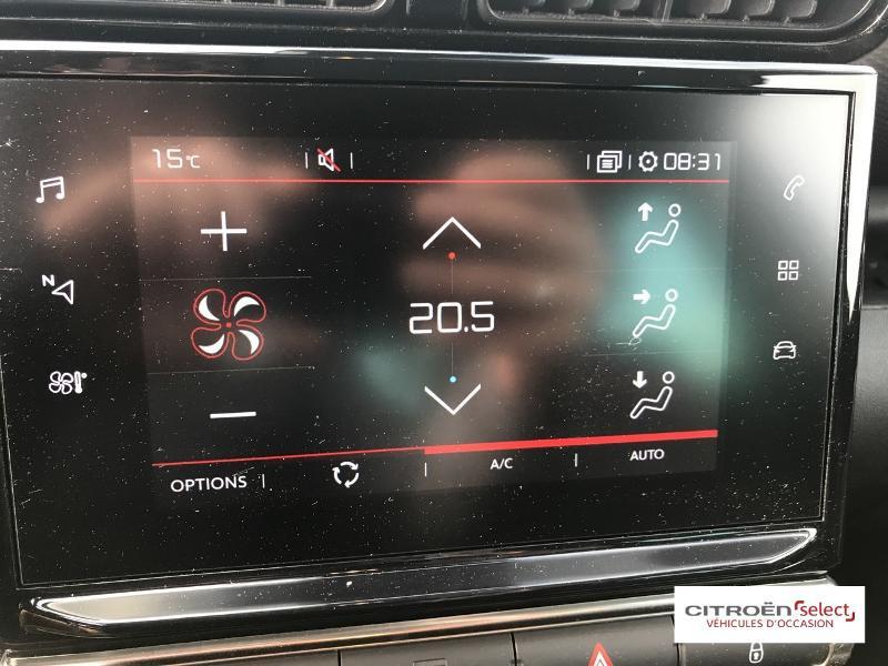 Citroen C3 Aircross PureTech 110ch S&S Shine E6.d Noir occasion à Mont-de-Marsan - photo n°14
