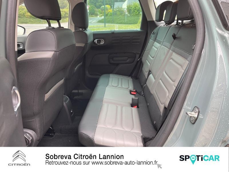 Citroen C3 Aircross PureTech 130ch S&S Shine Pack EAT6 Marron occasion à LANNION - photo n°10
