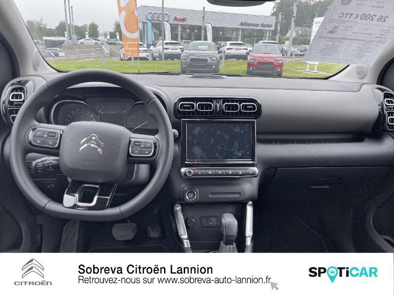 Citroen C3 Aircross PureTech 130ch S&S Shine Pack EAT6 Marron occasion à LANNION - photo n°8