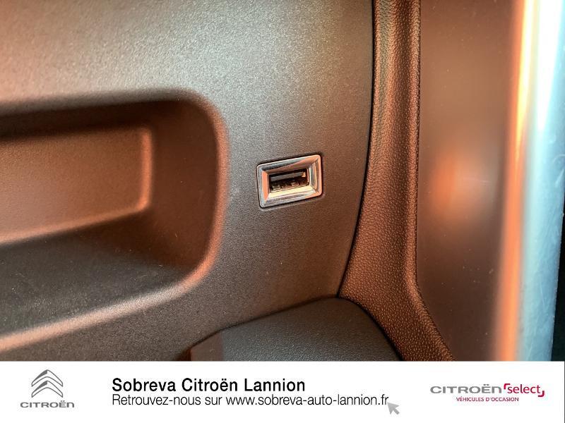 Citroen C3 Aircross PureTech 82ch Feel E6.d-TEMP Sable occasion à LANNION - photo n°18