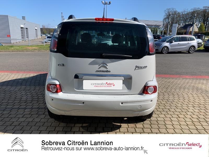 Citroen C3 Picasso 1.2 PureTech 110ch Exclusive Blanc occasion à LANNION - photo n°5