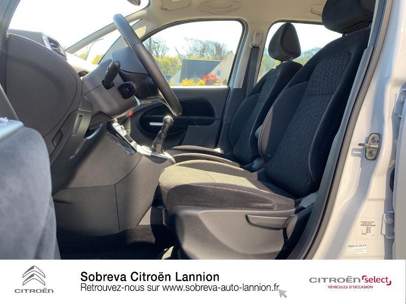 Citroen C3 Picasso 1.2 PureTech 110ch Exclusive Blanc occasion à LANNION - photo n°9