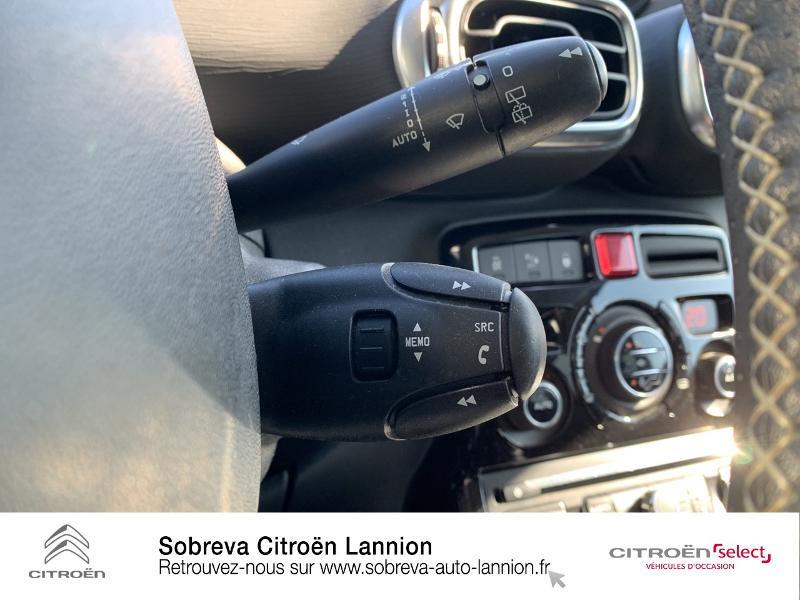 Citroen C3 Picasso 1.2 PureTech 110ch Exclusive Blanc occasion à LANNION - photo n°16