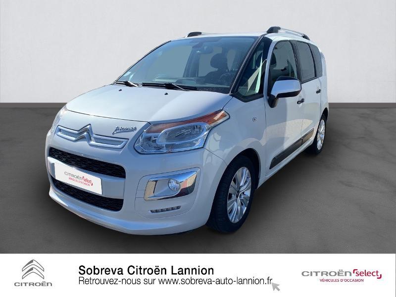 Citroen C3 Picasso 1.2 PureTech 110ch Exclusive Blanc occasion à LANNION