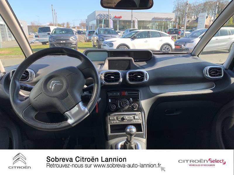 Citroen C3 Picasso 1.2 PureTech 110ch Exclusive Blanc occasion à LANNION - photo n°8