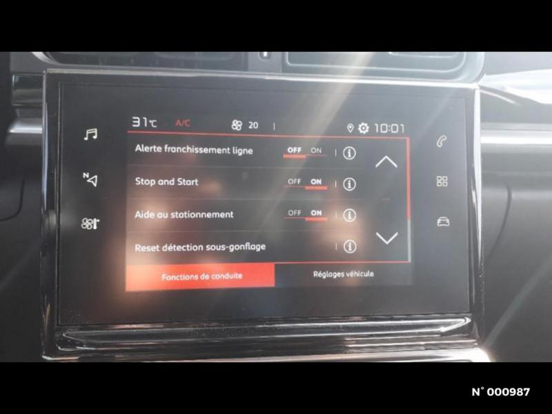 Citroen C3 1.2 PureTech 83ch S&S Feel Pack Gris occasion à Écuelles - photo n°19