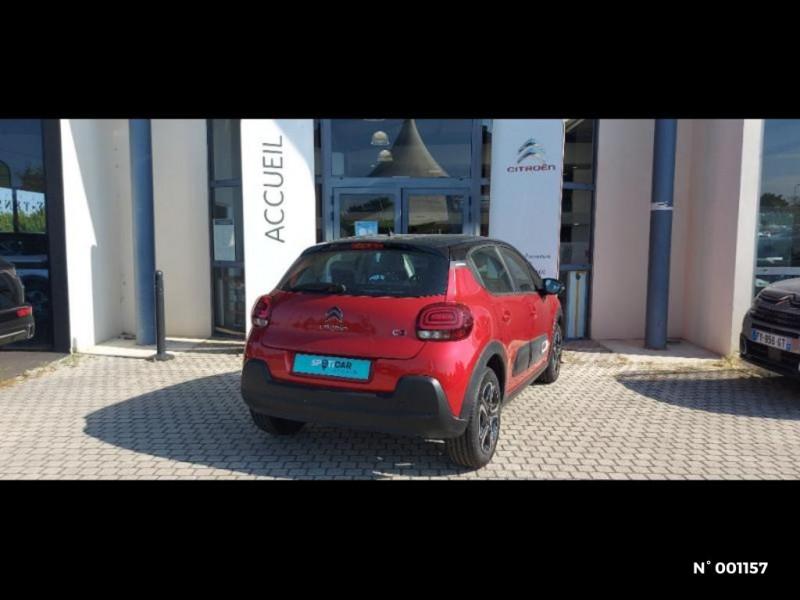 Citroen C3 1.2 PureTech 83ch S&S Feel Pack Gris occasion à Écuelles - photo n°2