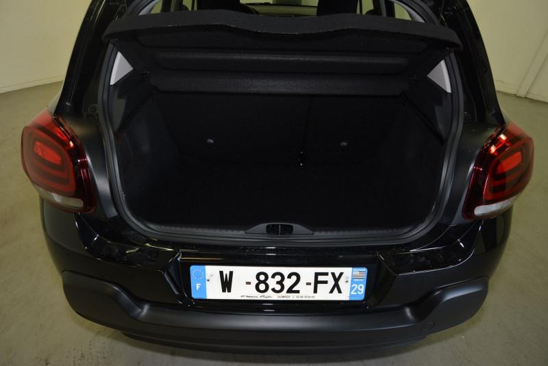 Citroen C3 1.5 BLUEHDI 100CH S&S FEEL E6.D Noir occasion à Quimper - photo n°3