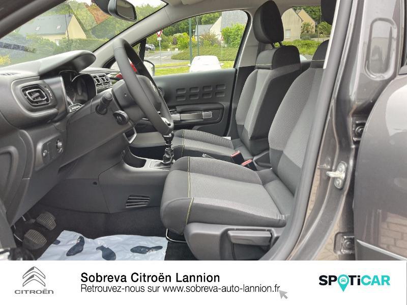 Citroen C3 1.5 BlueHDi 100ch S&S Shine Pack E6.d Gris occasion à LANNION - photo n°9