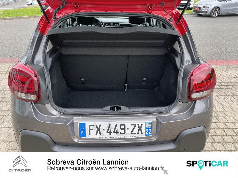 Citroen C3 1.5 BlueHDi 100ch S&S Shine Pack E6.d Gris occasion à LANNION - photo n°6