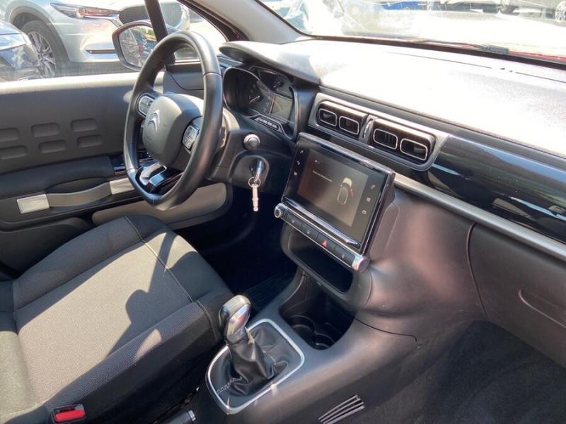 Citroen C3 BlueHDi 100 SHINE GPS Toit Panoramique Caméra Rouge occasion à Lescure-d'Albigeois - photo n°9