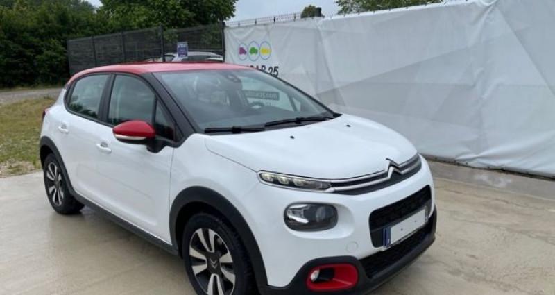 Citroen C3 Citroën FEEL 1.5 BLUEHDI 100 CH JA 16 P CONNECT RADIO RETROS  occasion à Tarcenay