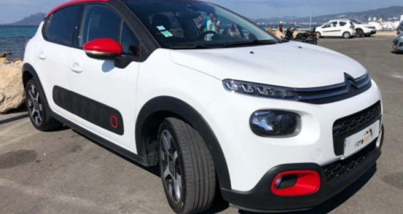 Citroen C3 Citroën III PureTech 110ch Shine S&S Blanc occasion à VERTOU - photo n°7