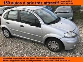 Citroen C3 Gris, garage VOITURE PAS CHERE RHONE ALPES à Saint-Bonnet-de-Mure