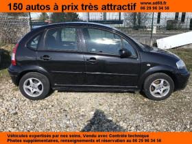 Citroen C3 Noir, garage VOITURE PAS CHERE RHONE ALPES à Saint-Bonnet-de-Mure