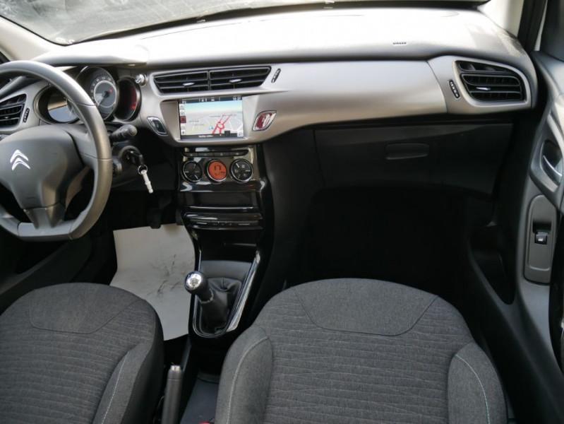 Citroen C3 II BlueHDi 100 CONFORT GPS Bluetooth 2 PL 6450 HT Blanc occasion à Lescure-d'Albigeois - photo n°9