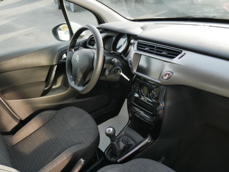 Citroen C3 II BlueHDi 100 CONFORT GPS Bluetooth 2 PL 6450 HT Blanc occasion à Lescure-d'Albigeois - photo n°5