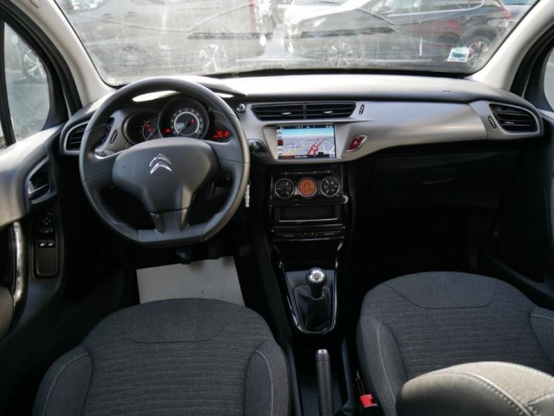 Citroen C3 II BlueHDi 100 CONFORT GPS Bluetooth 2 PL 6450 HT Blanc occasion à Lescure-d'Albigeois - photo n°7