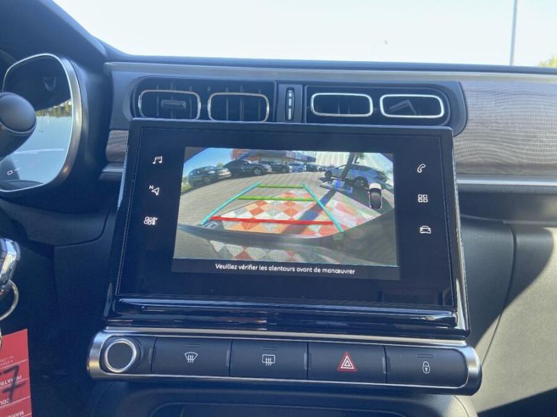 Citroen C3 PureTech 110 BV6 SHINE GPS Caméra Noir occasion à Montauban - photo n°16