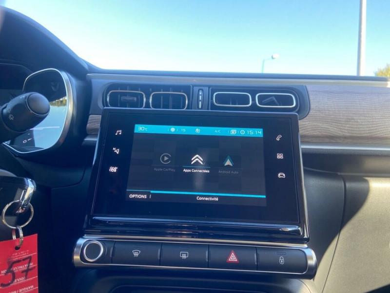 Citroen C3 PureTech 110 BV6 SHINE GPS Caméra Noir occasion à Montauban - photo n°15