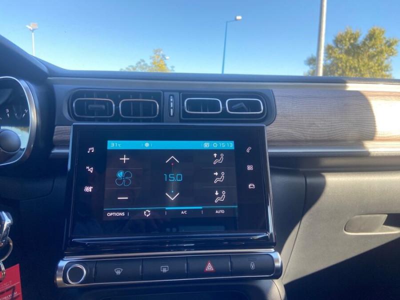Citroen C3 PureTech 110 BV6 SHINE GPS Caméra Noir occasion à Montauban - photo n°12