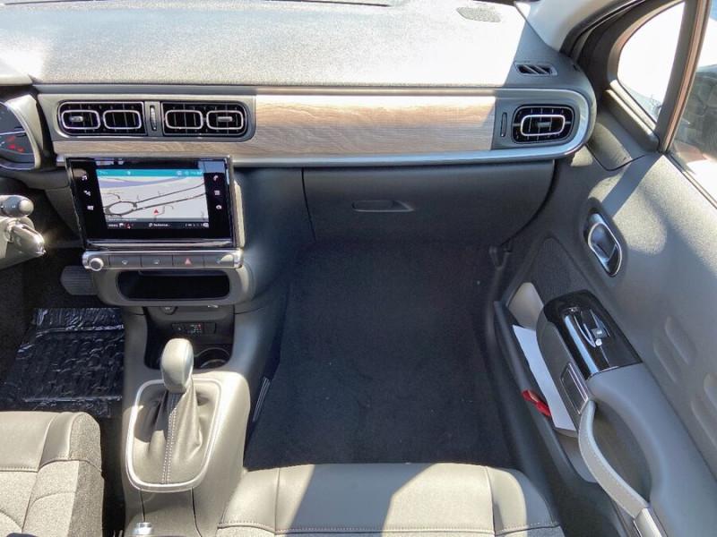 Citroen C3 PureTech 110 EAT6 SHINE GPS Caméra Gris occasion à Lescure-d'Albigeois - photo n°12