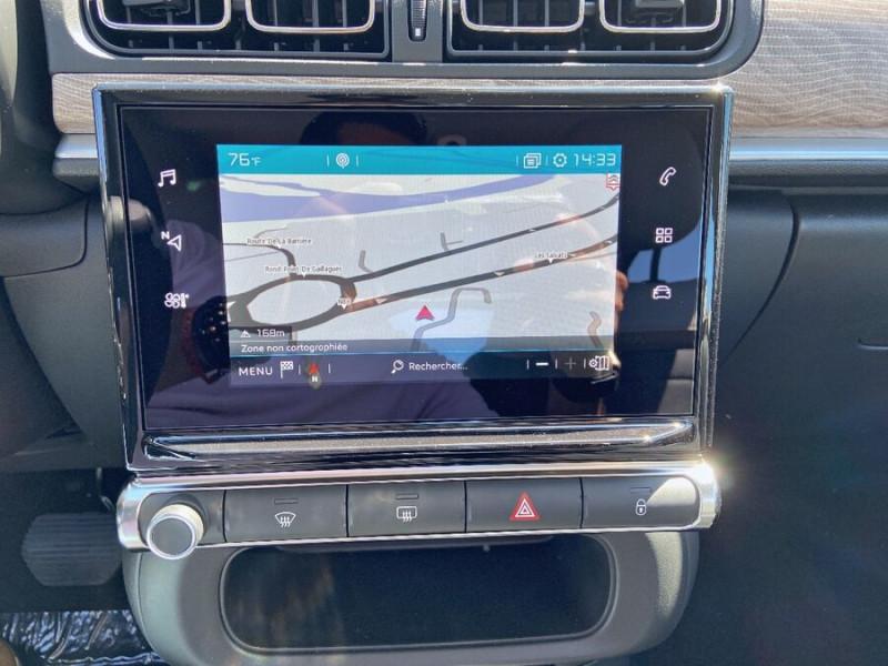 Citroen C3 PureTech 110 EAT6 SHINE GPS Caméra Gris occasion à Lescure-d'Albigeois - photo n°14