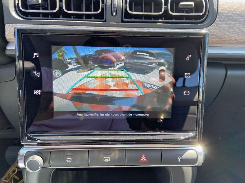 Citroen C3 PureTech 110 EAT6 SHINE GPS Caméra Gris occasion à Lescure-d'Albigeois - photo n°16
