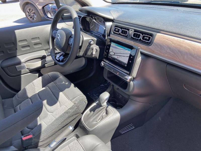 Citroen C3 PureTech 110 EAT6 SHINE GPS Caméra Gris occasion à Lescure-d'Albigeois - photo n°9