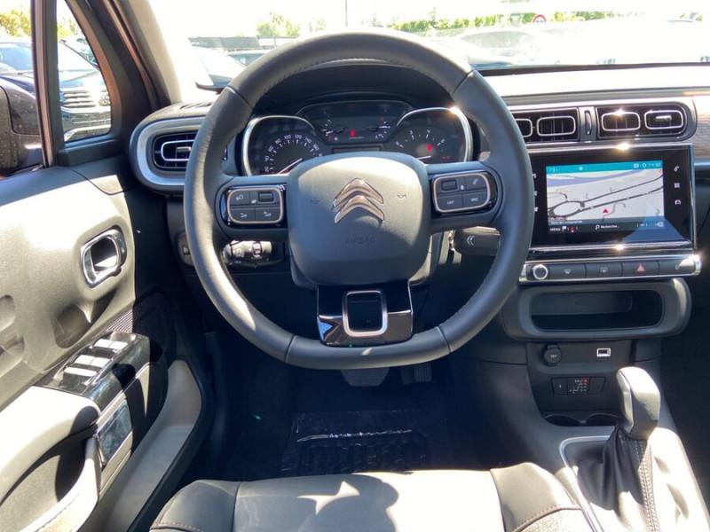 Citroen C3 PureTech 110 EAT6 SHINE GPS Caméra Gris occasion à Lescure-d'Albigeois - photo n°11