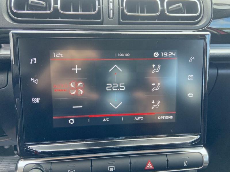 Citroen C3 PureTech 110 EAT6 SHINE Mirror Link Caméra Angles Morts Rouge occasion à Montauban - photo n°12