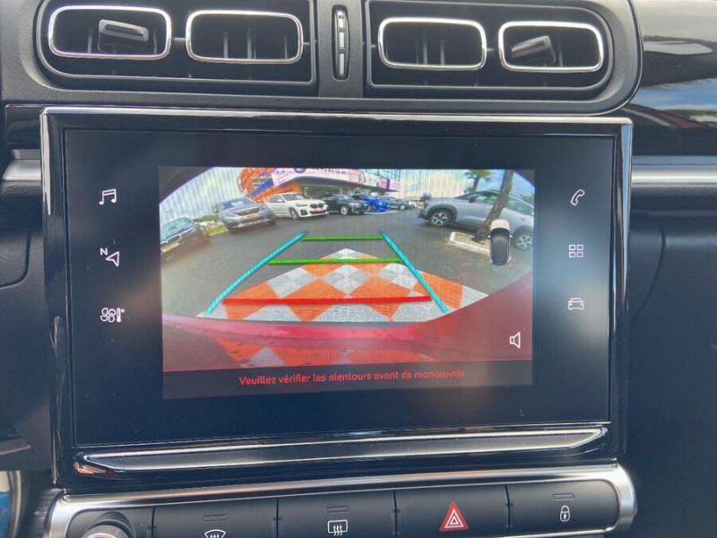 Citroen C3 PureTech 110 EAT6 SHINE Mirror Link Caméra Angles Morts Rouge occasion à Montauban - photo n°15