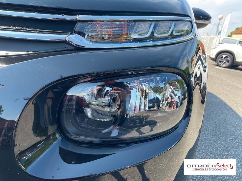 Citroen C3 PureTech 110ch Shine S&S E6.d 6cv Noir occasion à Figeac - photo n°17