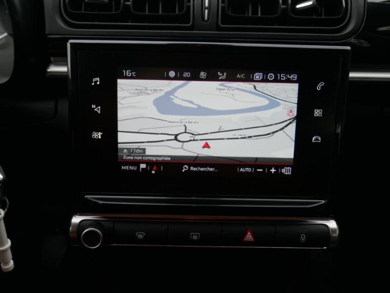 Citroen C3 PureTech 82 FEEL GPS Radar Toit Noir Rouge occasion à Toulouse - photo n°14