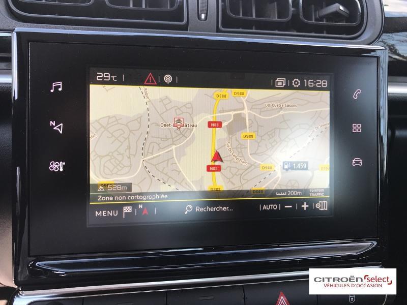 Citroen C3 PureTech 82ch Feel Business Blanc occasion à ONET LE CHATEAU - photo n°12