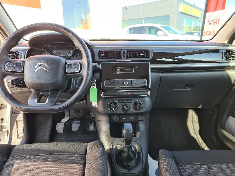 Citroen C3 PureTech 82ch Feel Blanc occasion à Barberey-Saint-Sulpice - photo n°7