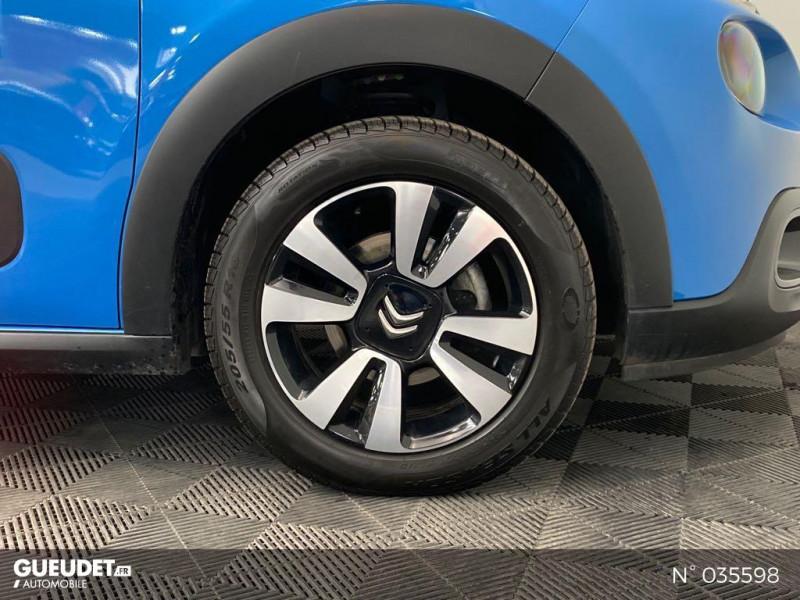 Citroen C3 PureTech 82ch Shine Bleu occasion à Abbeville - photo n°9