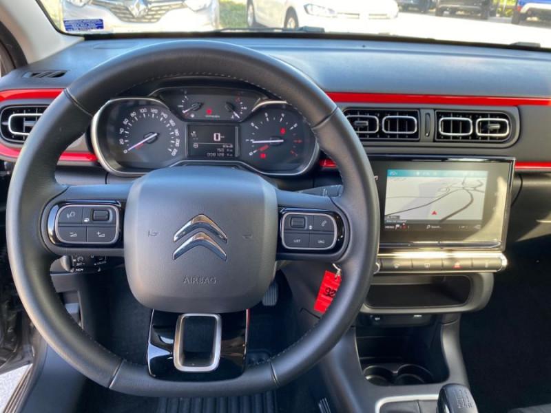 Citroen C3 PureTech 83 FEEL GPS Airbumps Toit Noir Gris occasion à Cahors - photo n°18