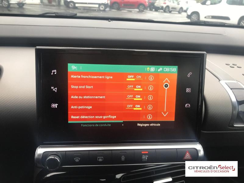 Citroen C4 Cactus PureTech 110ch S&S Feel Business E6.d Gris occasion à ONET LE CHATEAU - photo n°16