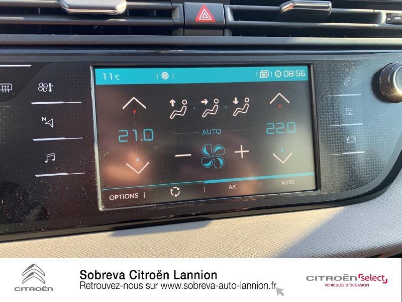 Citroen C4 Picasso 5 Places BlueHDi 120ch Business S&S 94g Gris occasion à LANNION - photo n°15