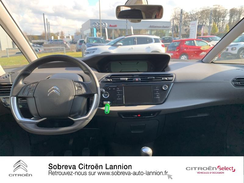 Citroen C4 Picasso 5 Places BlueHDi 120ch Business S&S 94g Gris occasion à LANNION - photo n°8