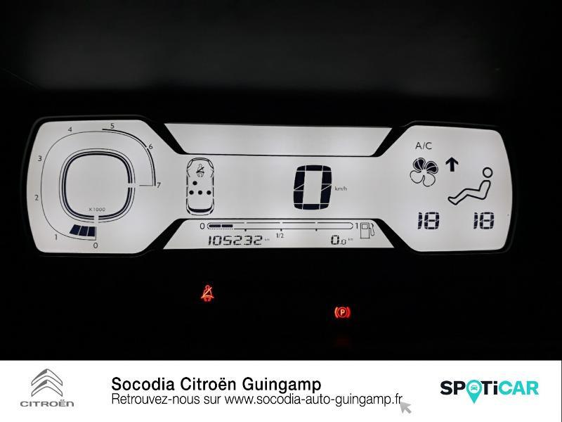 Citroen C4 Picasso 5 Places HDi 90ch Attraction Gris occasion à GUINGAMP - photo n°12
