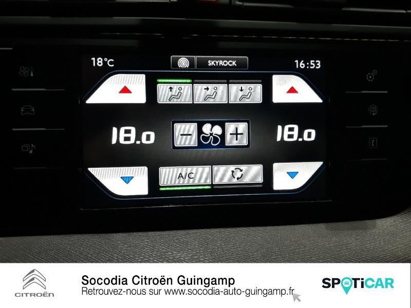 Citroen C4 Picasso 5 Places HDi 90ch Attraction Gris occasion à GUINGAMP - photo n°15