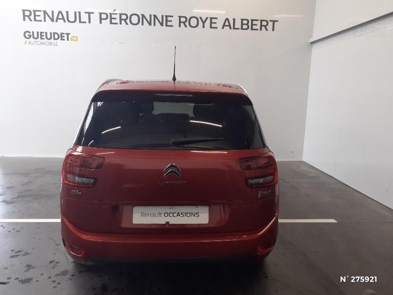 Citroen C4 Picasso 7 Places BlueHDi 120ch Feel S&S EAT6 Rouge occasion à Péronne - photo n°3