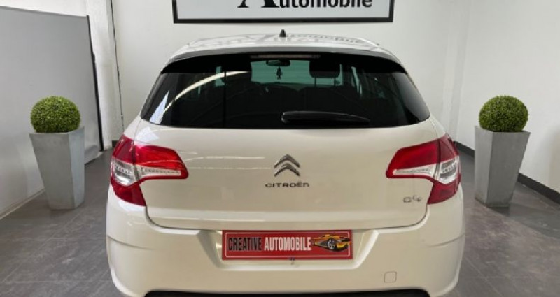 Citroen C4 1.6 HDi 110 CV 129 000 KMS Blanc occasion à COURNON D'AUVERGNE - photo n°5