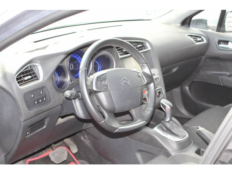Citroen C4 BlueHDi 120 S&S EAT6 Millenium Gris occasion à Toulouse - photo n°4