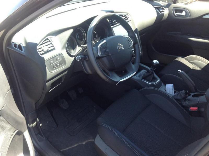Citroen C4 bluehdi 120 s Noir occasion à Vitré - photo n°5