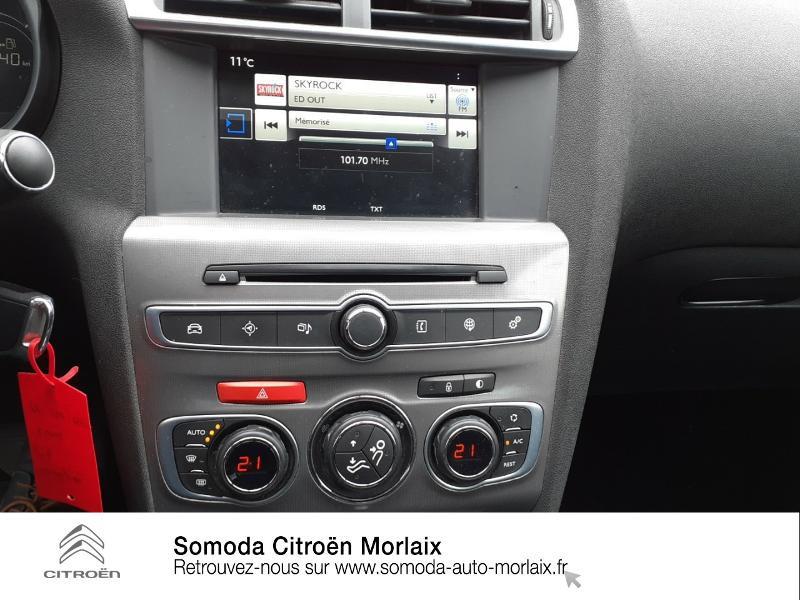 Citroen C4 BlueHDi 120ch Millenium S&S EAT6 Noir occasion à MORLAIX - photo n°12